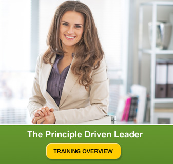 The Principle driven leader training overview